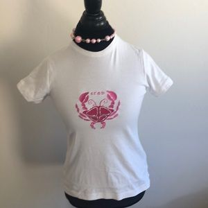 Lilly Pulitzer 💯 % cotton T-shirt Crab